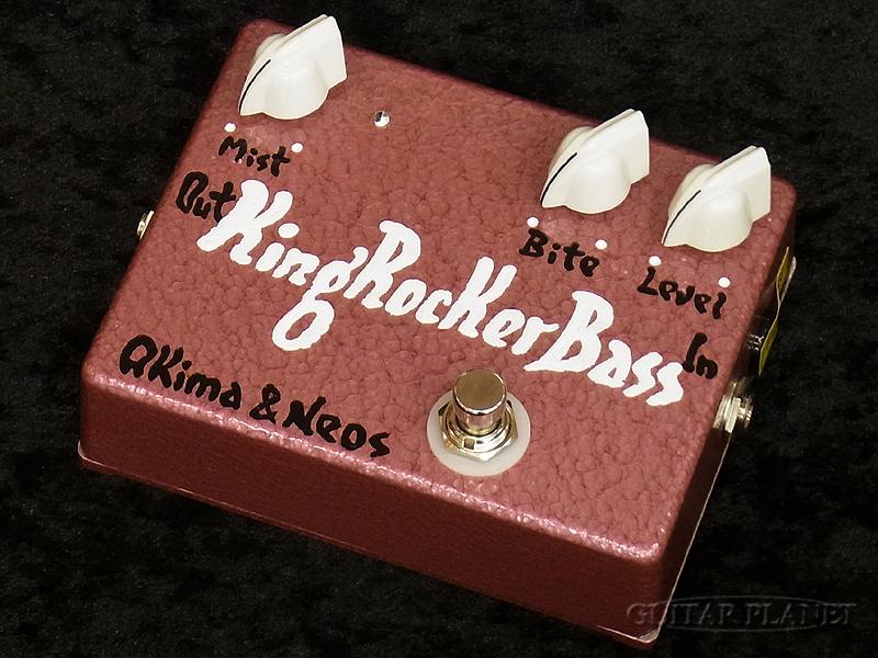 Akima&Neos King Rocker Bass GP Limited -White Knob w/White Logo-[アキマ,ネオス][ホワイト,白][Over Drive,オーバードライブ,歪み][Effector,エフェクター]