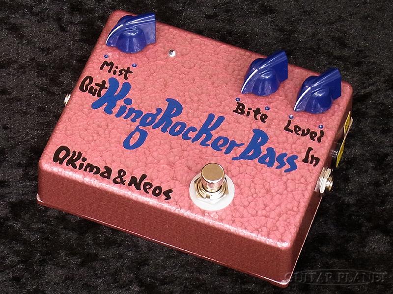 Akima&Neos King Rocker Bass GP Limited -Blue Knob w/Blue Logo-[アキマ,ネオス][ブルー,青][Over Drive,オーバードライブ,歪み][Effector,エフェクター]