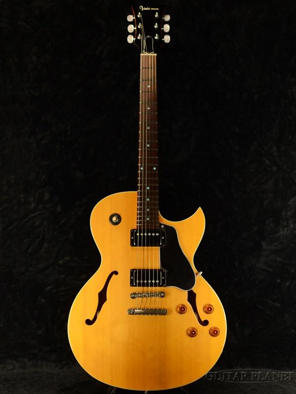 【中古】Violet Moon VERSION-S 2010年代製[バイオレットムーン][国産][Natural,ナチュラル][セミフルアコ][Electric Guitar,エレキギター]【used_アコースティックギター】