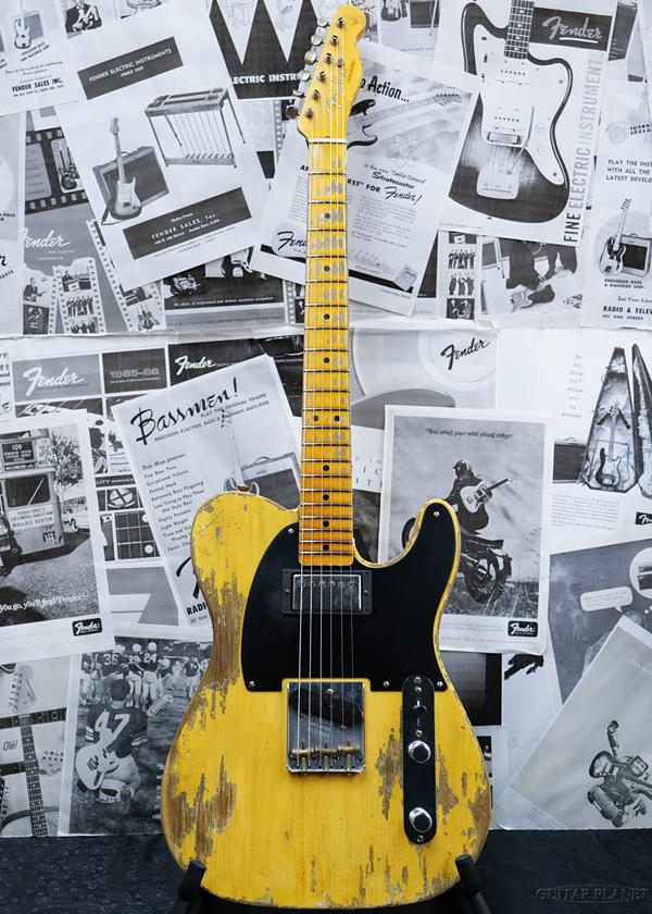 Fender Custom Shop ~2020 NAMM Show LIMITED #211~ 1951 HS Telecaster FLASH-COAT Super Heavy Relic -Aged Nocaster Blonde- 新品[フェンダーカスタムショップ,CS][テレキャスター][ブロンド][Electric Guitar,エレキギター]