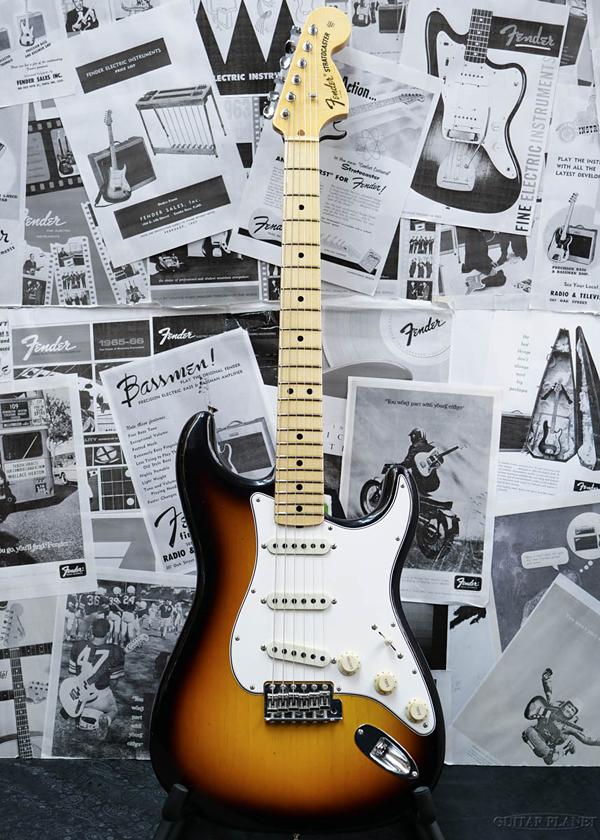 Fender Custom Shop ~2020 Custom Collection~ 1970 Stratocaster Journeyman Relic -Feded 3 Color Sunburst- 新品[フェンダーカスタムショップ,CS][ストラトキャスター][サンバースト][Electric Guitar,エレキギター]