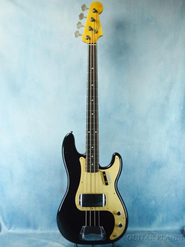 Fender Custom Shop ~Guitar Planet Exclusive~1959 Precision Bass Journeyman Relic -Aged Black- 新品[フェンダーカスタムショップ,CS][ブラック,黒][Precision Bass,プレシジョンベース,プレベ,PB][ナムショー][Electric Bass,エレキベース]