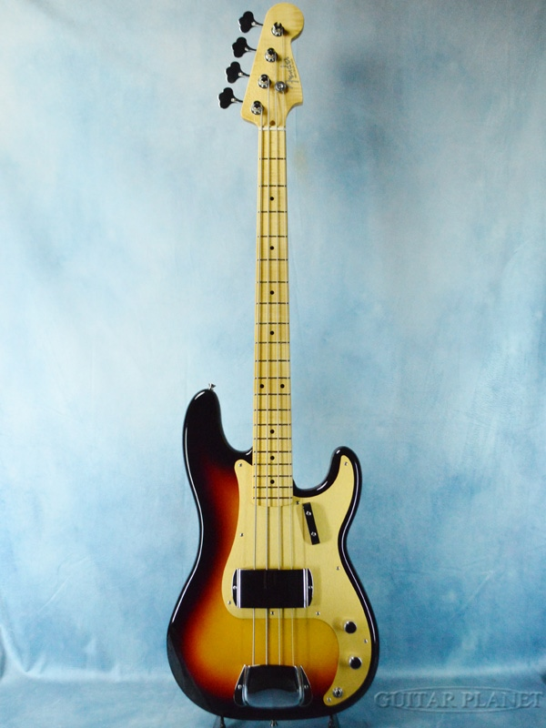 Fender Custom Shop ~2020 NAMM Show LIMITED~1958 Precision Bass NOS -3 Color Sunburst- 新品[フェンダーカスタムショップ,CS]サンバースト,木目[Precision Bass,プレシジョンベース,プレベ,PB][ナムショー][Electric Bass,エレキベース]