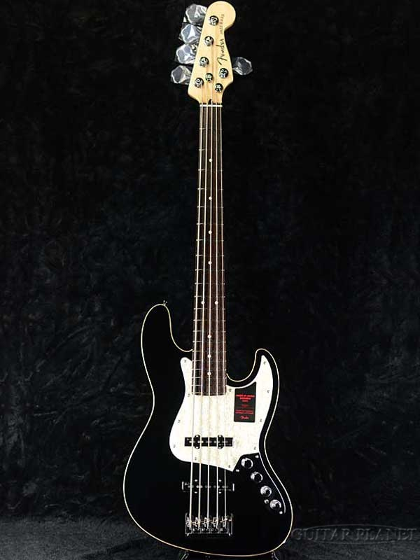 Fender Made in Japan Modern Jazz Bass V - Black- 新品[フェンダー][黒][Jazz Bass,JB,ジャズベース][5strings,5弦][Electric Bass,エレキベース]