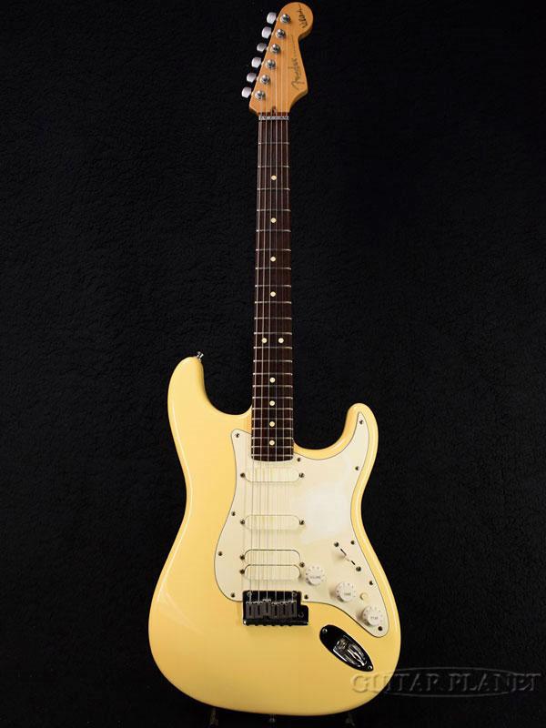 【中古】Fender USA Jeff Beck Stratocaster -Vintage White- 2000年製[フェンダーUSA][ジェフベック][ストラトキャスター][ヴィンテージホワイト,白][Electric Guitar,エレキギター]【used_エレキギター】