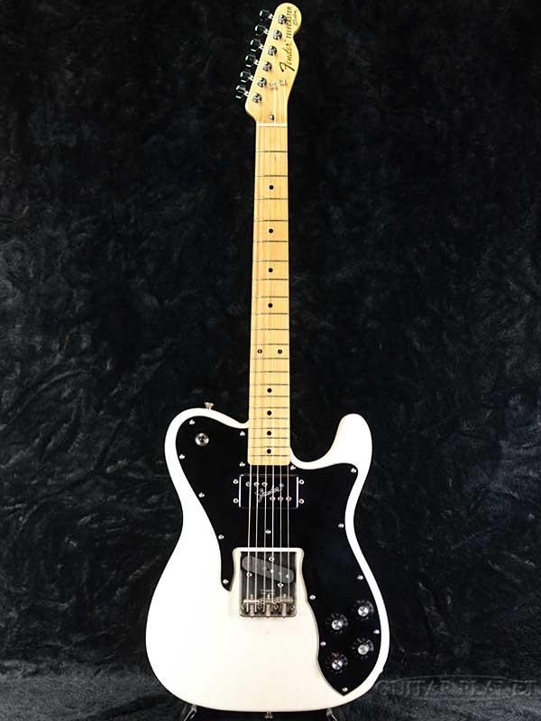 【中古】Fender Japan TC72 -USB (USA Blonde)- 2010-2012年製[フェンダージャパン][Telecaster,テレキャスター][Custom,カスタム][ブロンド,White,白][Electric Guitar]【used_エレキギター】