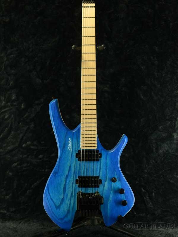 代引き人気 BLACKAT Guitars HHD 6 -Trans Dark Blue- 新品[Headless,ヘッドレス][カスタムモデル,Custom][ポーランド製][ブルー,青][Electric Guitar,エレキギター], 中津軽郡 f8079f8a