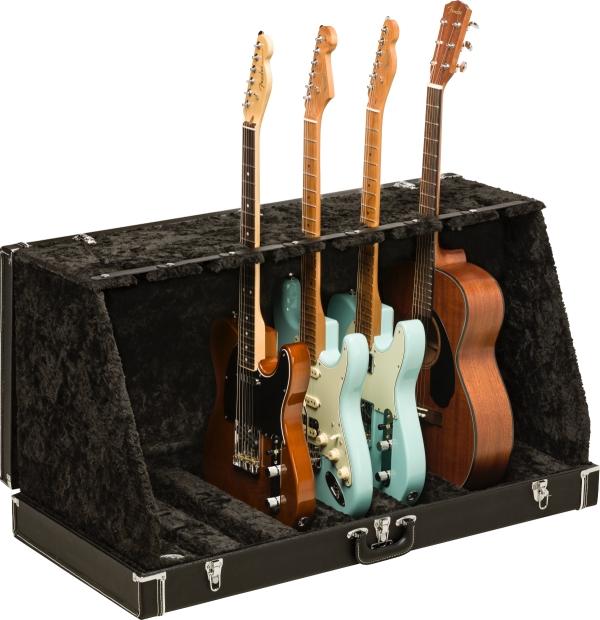 Fender CLASSIC SERIES CASE STAND - 7 GUITAR -Black- 新品[フェンダー][最大7本掛けギタースタンド][ブラック,黒]