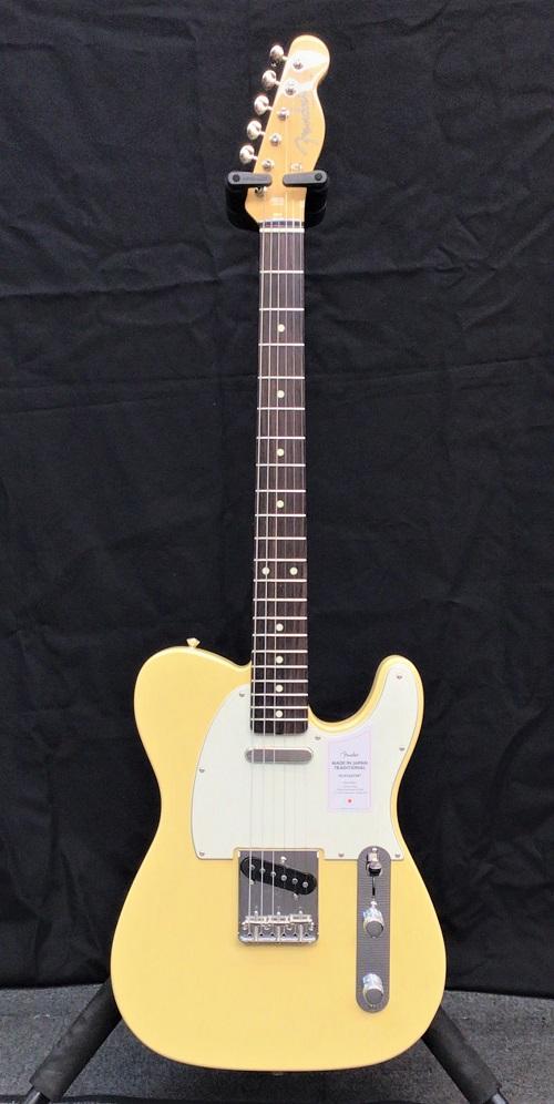 Traditional 新品【JD21004425】【軽量3.12kg】[フェンダージャパン][トラディショナル][ビンテージホワイト,白][テレキャスター][Electric White- Telecaster in Japan Fender 60s Guitar,エレキギター] Made -Vintage