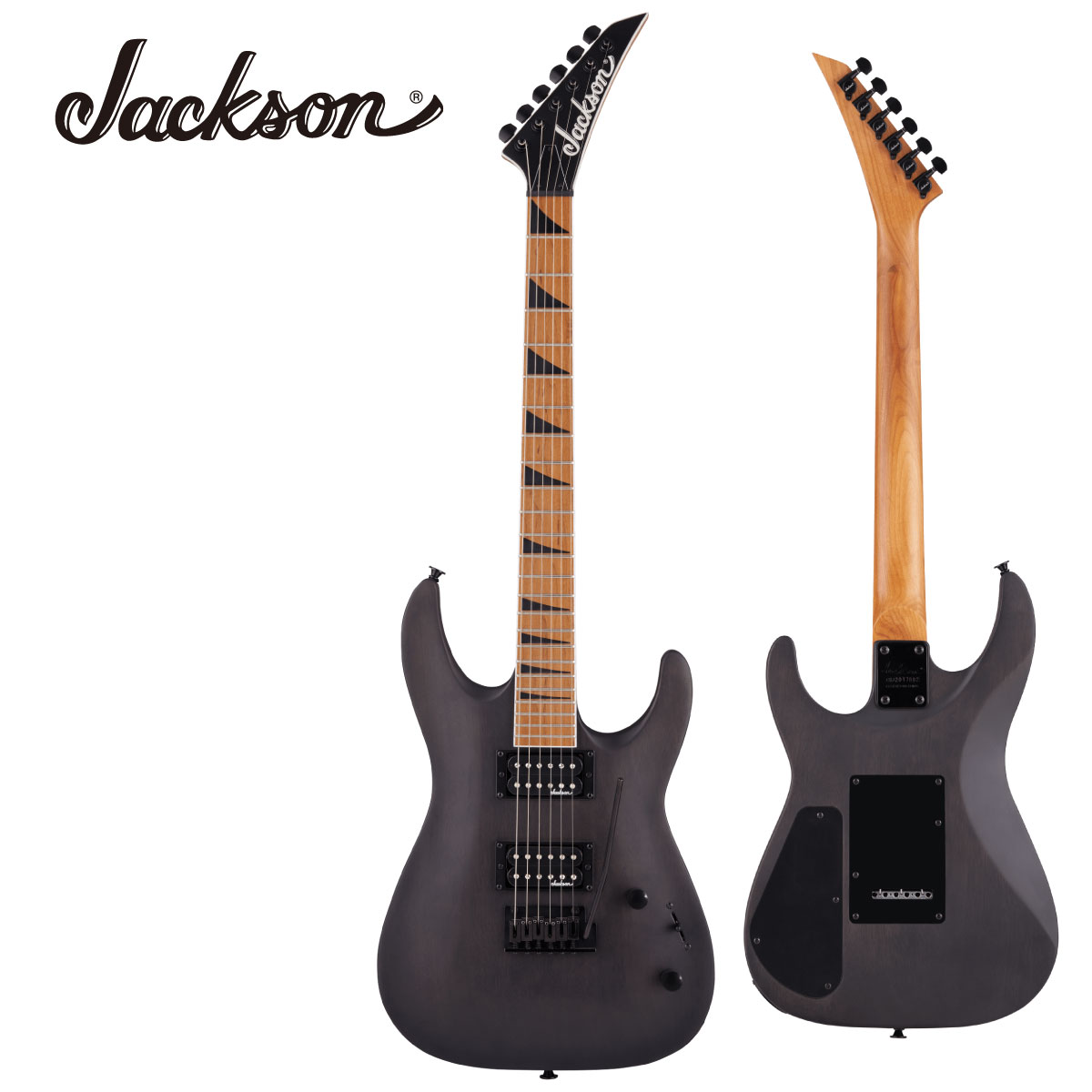 Jackson JS Series Dinky Arch Top 大注目 JS24 DKAM -Black ブラック 黒 ジャクソン Electric Stain- エレキギター Guitar 新品 安心と信頼