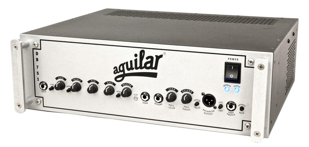 【975W】Aguilar DB 751 新品[アギュラー][ベースアンプ/ヘッド,Bass Amplifier Head][チューブ,真空管]