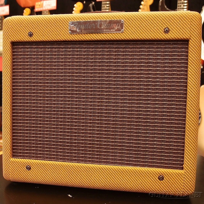 Fender USA 57 Custom Tweed Amps 57 Custom Champ -Lacquer Tweed- 新品[フェンダー][ツィード・チャンプ][ギターアンプ/コンボ,Guitar combo amplifier][真空管,チューブ]