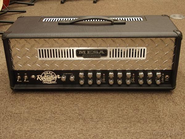 【中古】Mesa/Boogie Dual Rectifier Solo Head ギター用アンプヘッド 2000年代製[メサブギー][デュアルレクチファイア][Tube Amp,チューブ,真空管][Guitar Head Amplifier]