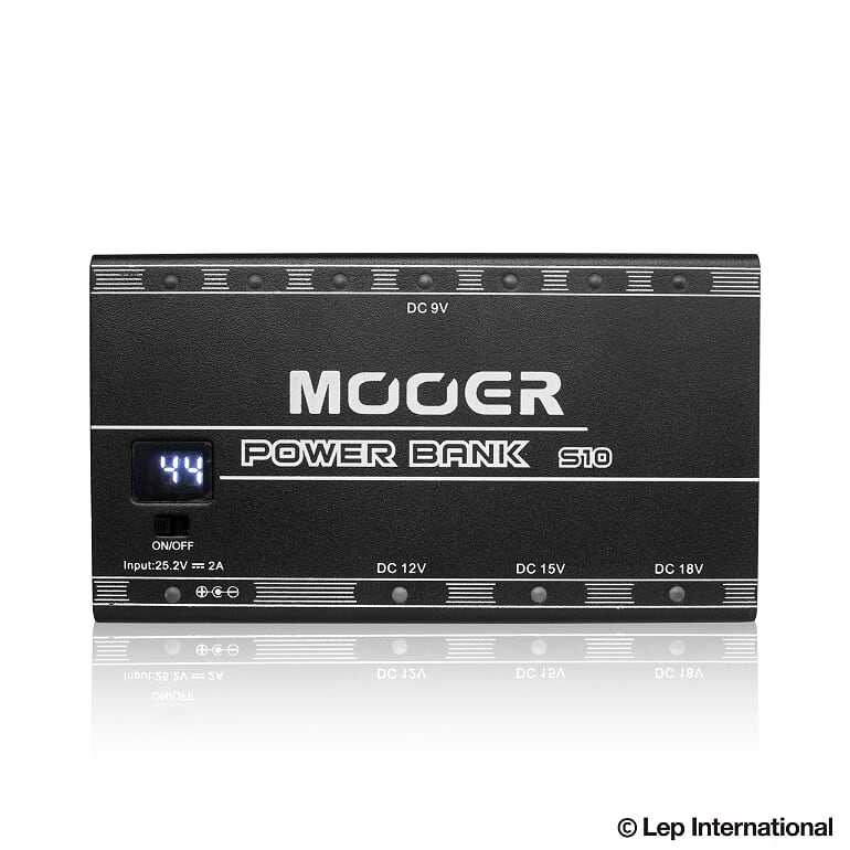 Mooer Power Bank S10 Rechargeable Power Supply 新品 充電式パワーサプライ[ムーア][パワーバンク][Power Supply][エフェクター,Effector]
