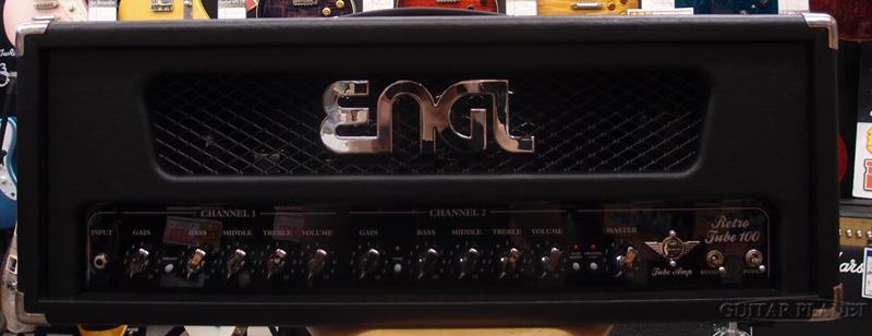【中古】ENGL RETRO TUBE100 Head (E765) 2000年代製 ギター用アンプヘッド[エングル][Tube Amp,チューブ,真空管][Guitar Head Amplifier]