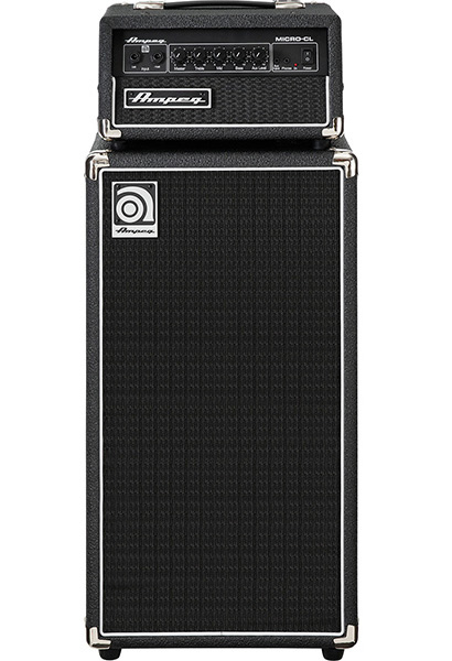 Ampeg Classic Series Micro-CL Stack 新品 ベース用ミニスタックアンプ[アンペグ][マイクロCL,クラシック][セット][Bass Amplifier Head,ヘッド][Cabinet,キャビネット]