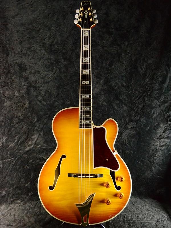 【中古】ARIA Custom Shop AP FA-01 Brown Sunburst 1990年代製[アリア][Electric Guitar,エレキギター][Acoustic Guitar,アコギ,アコースティックギター,Folk Guitar,フォークギター][ブラウンサンバースト][Electric Guitar]【used_エレキギター】