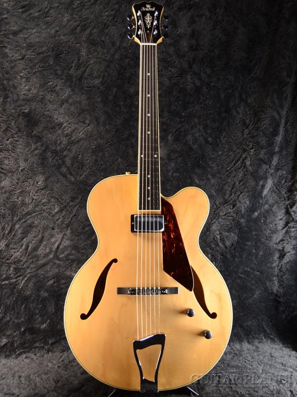 Aria Pro II FA-1000 ''Natural'' 新品[アリアプロ2][国産][ナチュラル][セミアコ/フルアコ][Electric Guitar,エレキギター]