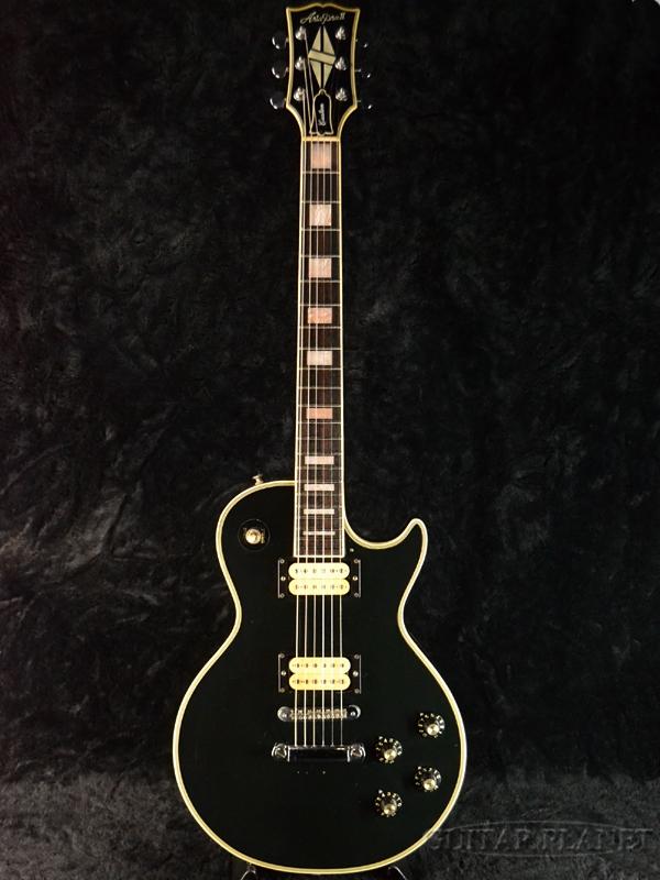 Aria Pro II LC-600-Black-1980年制造[抒情曲专业2][黑色,黑][Les Paul,莱斯·保罗Les Paul,莱斯·保罗型][Electric Guitar,电子吉他]