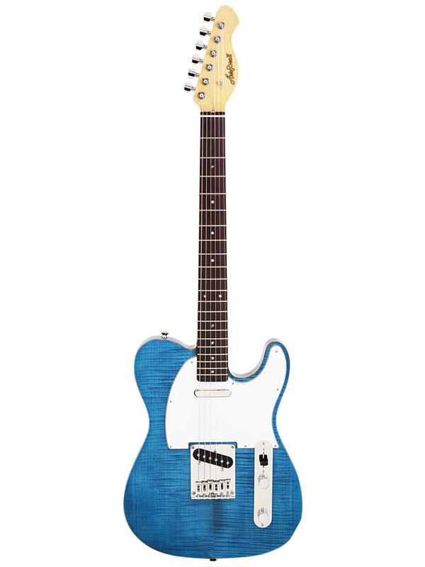 Aria Pro II TEG-STD TBL 新品 トランスブルー [アリアプロ2][国産][Trans Blue,青][Telecaster,TL,テレキャスタータイプ][Electric Guitar,エレキギター]