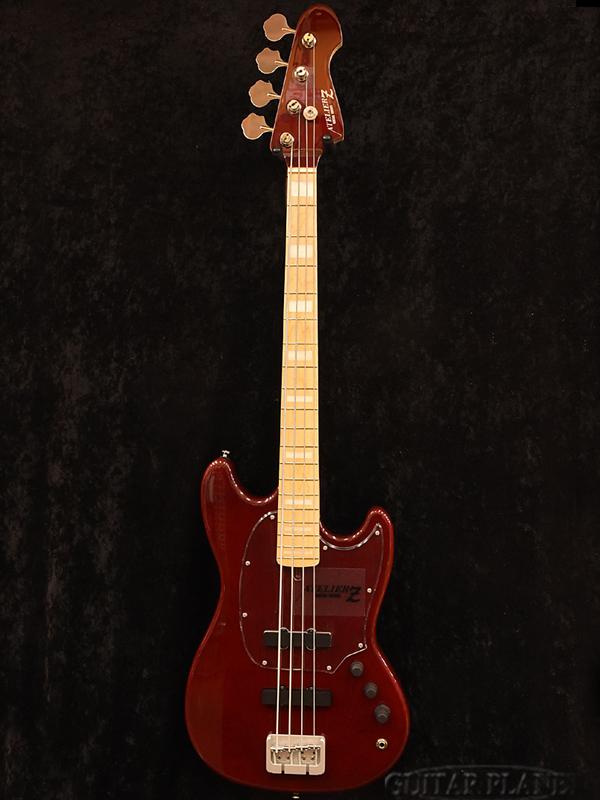 ATELIER Z BabyZ-4J -BLR- 新品[アトリエZ][国産][ベイビーZ][Red,レッド,赤][Electric Bass,エレキベース]