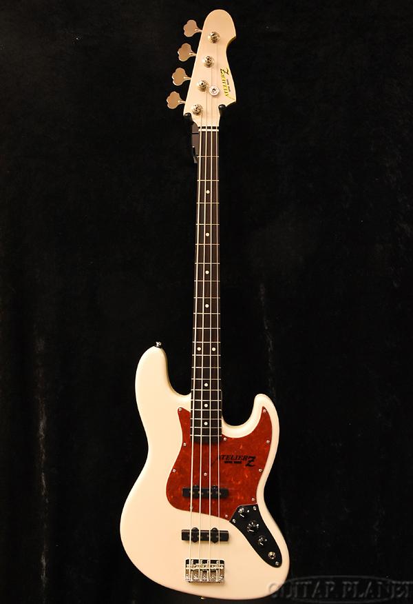 【限定1本】ATELIER Z Vintage#604 Custom -Olympic White- 新品[アトリエ][国産][オリンピックホワイト,白][ジャズベースタイプ,Jazz Bass,JB][エレキベース,Electric Bass]