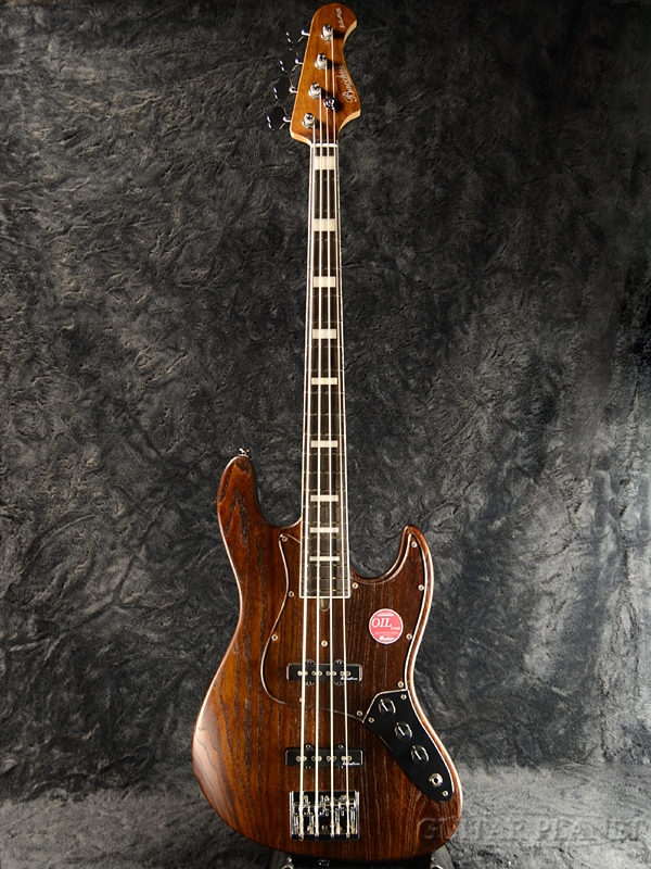 Bacchus Woodline417 -Brown Oil- 新品[バッカス][国産/日本製][Handmade Series,ハンドメイドシリーズ][ブラウン,木目][4strings,4弦][Jazz Bass,ジャズベースタイプ][Electric Bass,エレキベース]