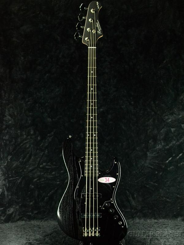 Bacchus WL-434S ASH -BLK Oil- 新品[バッカス][Black,ブラック,黒][Jazz Bass,ジャズベースタイプ]
