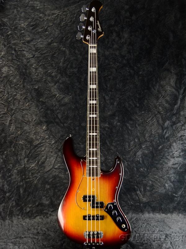 【中古】Bacchus PJ-Woodline -3 Tone Sunburst-[バッカス][Jazz Bass,ジャズベースタイプ][3トーンサンバースト][Electric Bass,エレキベース]【used_ベース】