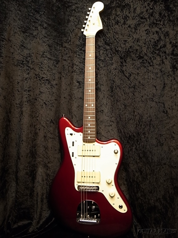 【弊店オリジナル仕様】Bacchus BJM-60E CAR MOD 新品[バッカス][Candy Apple Red,キャンディアップルレッド,赤][BJM60E][Jazzmaster,ジャズマスタータイプ][Electric Guitar,エレキギター]