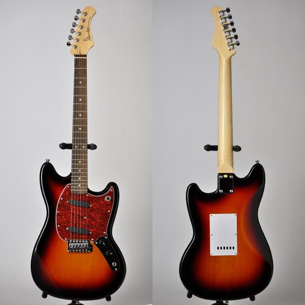 Bacchus Universe Series BMS-1R 3TS 新品 3トーンサンバースト[バッカス][ユニバースシリーズ][BMS1R][Mustang,ムスタングタイプ][3-Tone Sunburst][Electric Guitar,エレキギター]