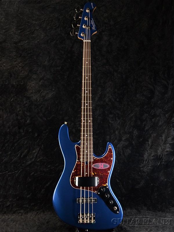 Bacchus GLOBAL Series WL-434 DLPB 新品 ダークレイクプラッシドブルー[バッカス][グローバルシリーズ][WL434][Dark Lake Placid Blue,ブルー,青][Matching Head,マッチングヘッド][Electric Bass,エレキベース]