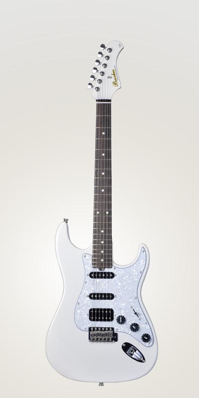 Bacchus Global Series GS-001 SWH新货雪白[巴克斯][全球化的系列][GS001][White,白][Stratocaster,sutoratokyasutataipu][Electric Guitar,电子吉他]