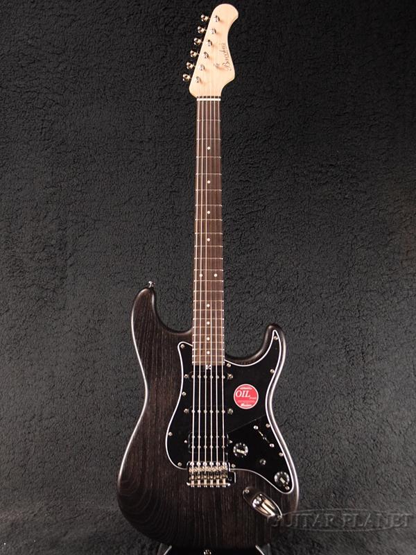 Bacchus G-STUDIO ASH/FS BLK-OIL 新品 [バッカス][ハンドメイドシリーズ][ブラックオイル,黒][Stratocaster,ストラトキャスター][Electric Guitar,エレキギター]