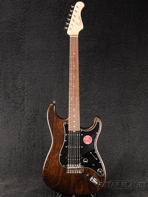 Bacchus G-STUDIO ASH/FS BR-OIL 新品 [バッカス][ハンドメイドシリーズ][ブラウンオイル,茶色][Stratocaster,ストラトキャスター][Electric Guitar,エレキギター]
