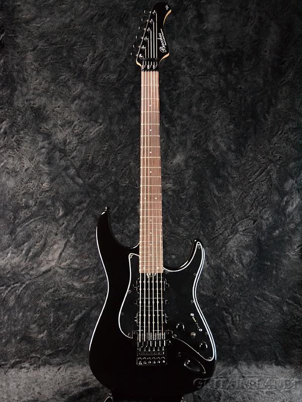 【アウトレット大特価】Bacchus Craft Series IMPERIAL-PROII -Black- 新品[バッカス][国産][インペリアル][ブラック,黒][Stratocaster,ストラトキャスタータイプ][Electric Guitar,エレキギター]