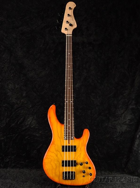 Bacchus TF-Ash 4st HB 新品[バッカス][国産][Craft Series][Sunburst,サンバースト][Jazz Bass,ジャズベースタイプ][Electric Bass,エレキベース]