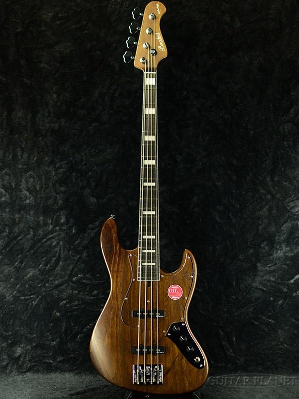 Bacchus WOODLINE 417 -Brown oil- 新品[バッカス][国産][ブラウンオイル][Jazz Bass,ジャズベース][Electric Bass,エレキベース]