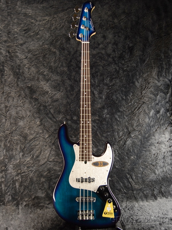 Bacchus WL-433/TW -TBS- 新品[バッカス][WL433][青,ブルー,青][Matching Head,マッチングヘッド][Electric Bass,エレキベース]