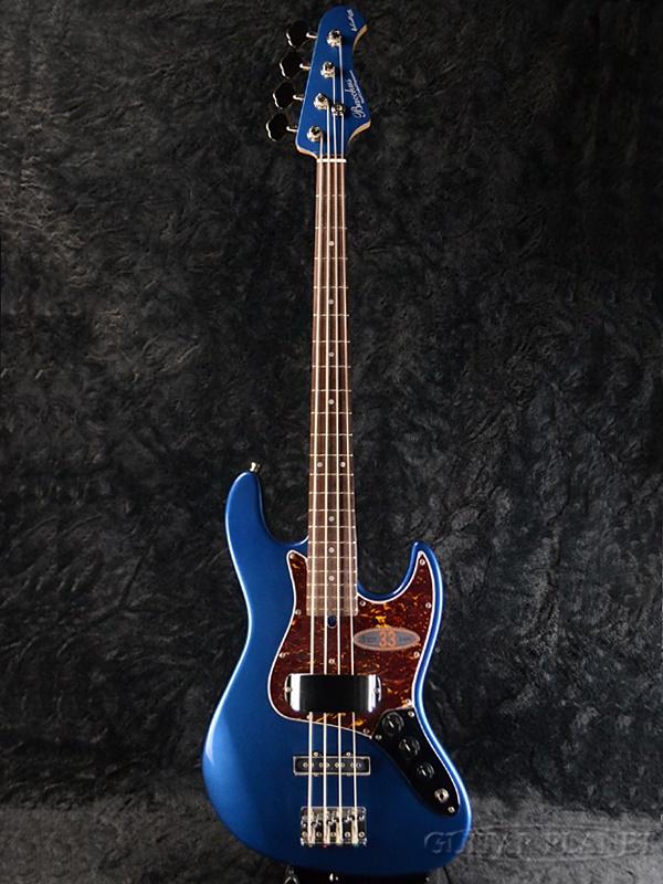 Bacchus GLOBAL Series WL-433 DLPB 新品 ダークレイクプラッシドブルー[バッカス][グローバルシリーズ][WL433][Dark Lake Placid Blue,ブルー,青][Matching Head,マッチングヘッド][Electric Bass,エレキベース]