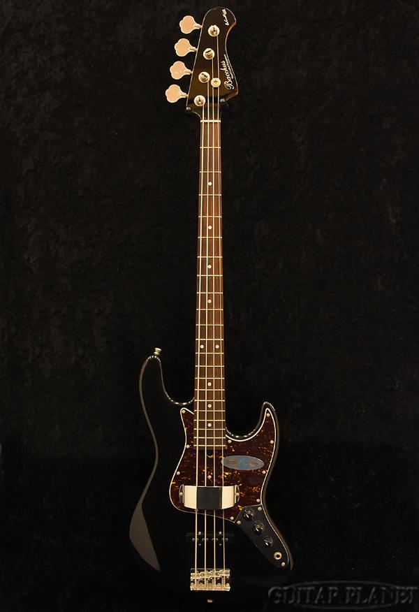 【アウトレット大特価】Bacchus WL-435 -BLK- 新品[バッカス][Global Series,グローバルシリーズ][国産][Black,ブラック,黒][Jazz Bass,ジャズベースタイプ][Electric Bass,エレキベース]
