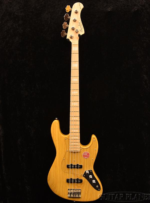 【アウトレット大特価】Bacchus WL4DX-ASH -Narural Oil- 新品[バッカス][Craft Series,クラフトシリーズ][国産][ナチュラルオイル][Jazz Bass,ジャズベースタイプ][Electric Bass,エレキベース]