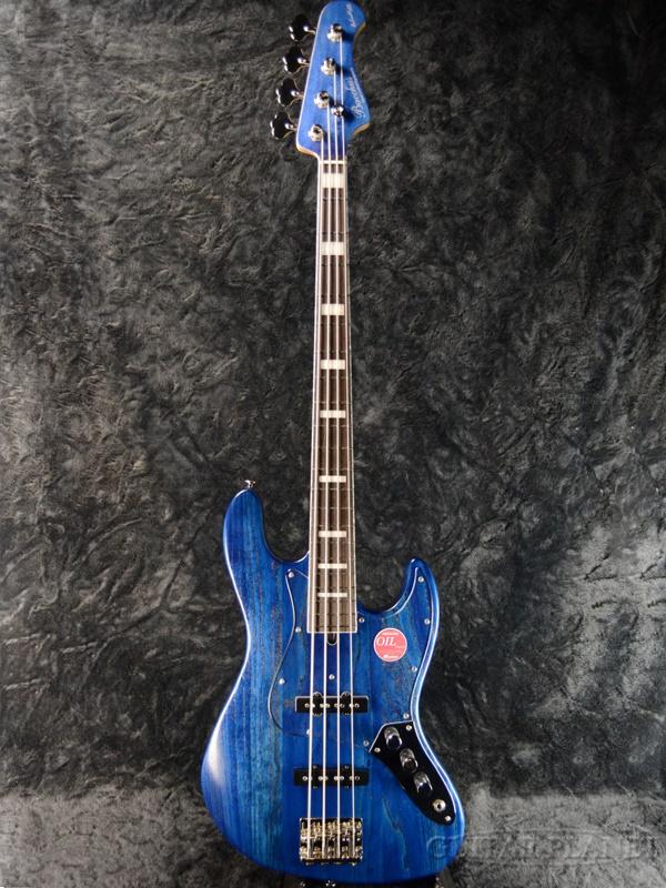 Bacchus ≪アウトレット大特価≫ WL4DX-ASH -Blue Oil- 新品[バッカス][国産/日本製][WOODLINE][ブルーオイル,青][Jazz Bass,ジャズベースタイプ][Electric Bass,エレキベース]