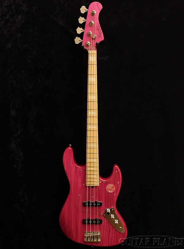 Bacchus WL4DX-ASH/M -Pink Oil/MH- 新品[バッカス][Craft Series,クラフトシリーズ][国産][ピンクオイル][Jazz Bass,ジャズベースタイプ][Electric Bass,エレキベース]