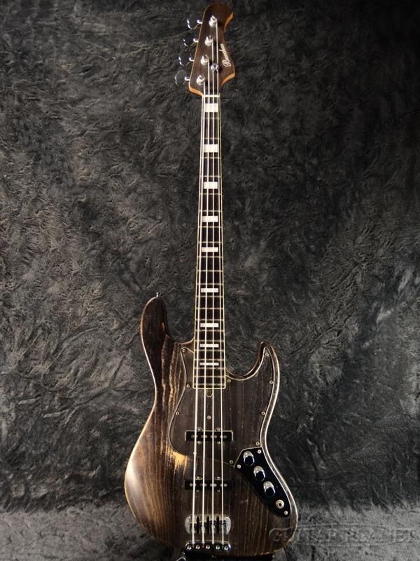 【中古】Bacchus Woodline Ash4 -Black Oil-[バッカス][国産][ブラックオイル,黒][Jazz Bass,JB,ジャズベースタイプ][Electric Bass,エレキベース]【used_ベース】