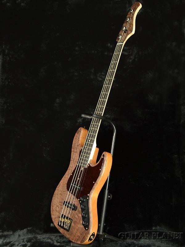 Bacchus Woodline DX4 EWC/CW brand new [Bacchus], [home] [woodline] natural Natural, [JB, Jazz Bass, jazz bass, Electric Bass, electric bass