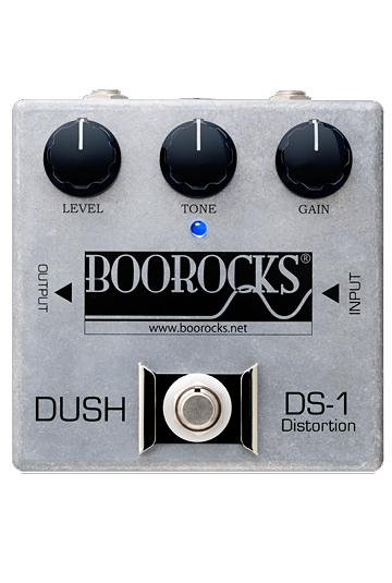 BOOROCKS DUSH Distortion DS-1 新品 ディストーション [ブロックス][国産][ダッシュ][Distortion][エフェクター,Effector]
