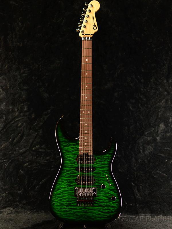 本店は Charvel MJ SAN DIMAS STYLE 1 HSH FR PF QM Transparent Green Burst 新品[シャーベル][サン・ディマス][トランスペアレントグリーンバースト,緑][Stratocaster,ストラトキャスタータイプ][Electric Guitar,エレキギター], 館山市 20611b0f
