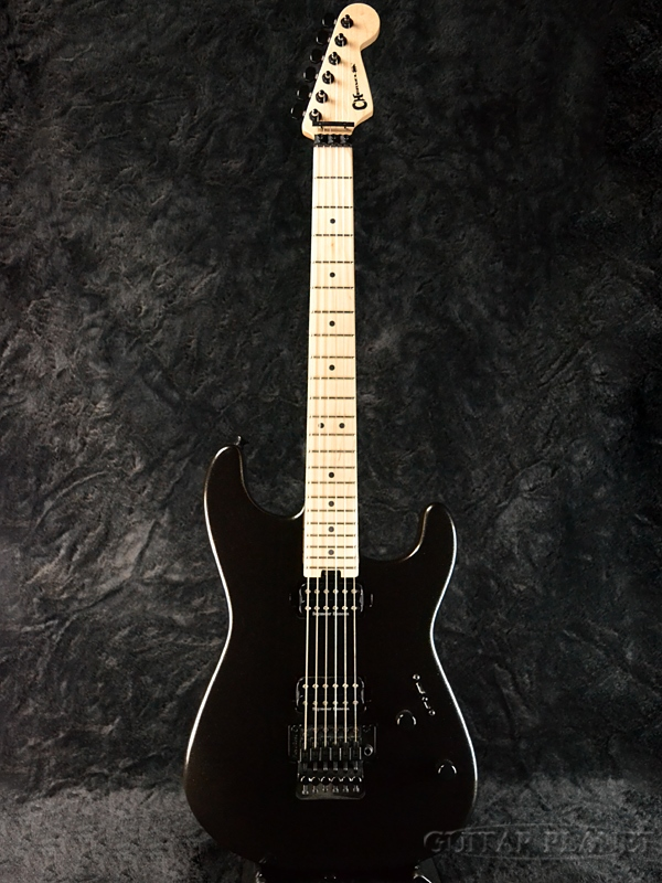 【アウトレット大特価!!】Charvel SAN DIMAS STYLE 1 HH FR -METALLIC BLACK- 新品[シャーベル][サン・ディマス][メタリックブラック黒,][Stratocaster,ストラトキャスタータイプ][Electric Guitar,エレキギター]