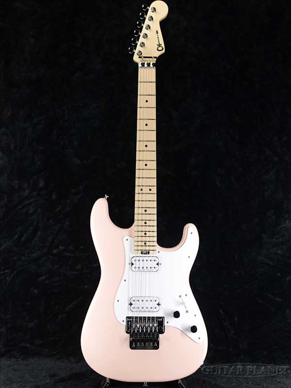 Charvel Pro-Mod So-Cal Style 1 HH FR M -Satin Shell Pink / Patchment Pick Guard- 新品[シャーベル][ピンク,桃色][Stratocaster,ストラトキャスタータイプ][Electric Guitar,エレキギター]